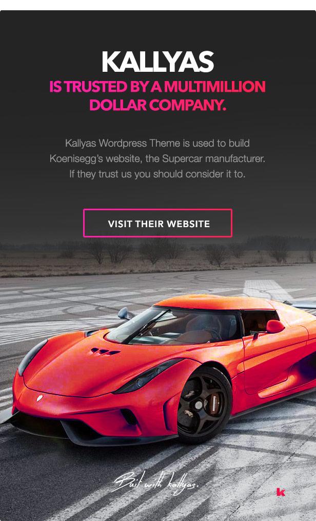 Koenisegg  - kns2 - KALLYAS – Creative eCommerce Multi-Purpose WordPress Theme