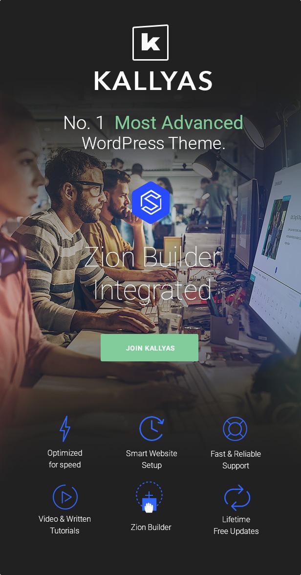 Kallyas Responsive Multi-Purpose WordPress Theme